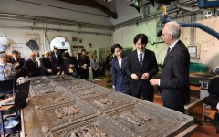Firenze: principi giapponesi accolti a palazzo Medici Riccardi, poi giornata dedicata all'arte