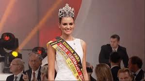 Lena Broder, miss Germania, seconda classificata a Miss Euro2016