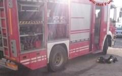 Vigili del fuoco incendio Barberino del Mugello