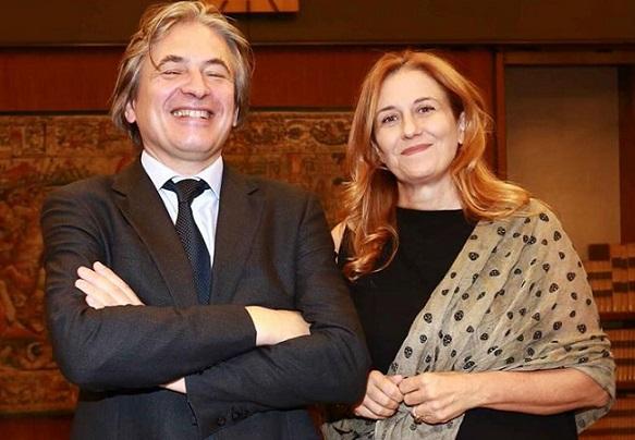 Campo Dall'Orto e Monica Maggioni