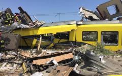 Andria, scontro fra treni: il bilancio delle vittime sale a 20. Renzi stasera in Puglia