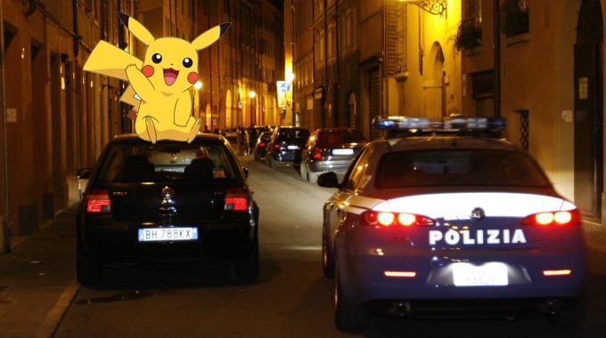 Firenze, in auto contromano per catturare i Pokémon