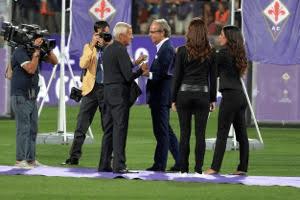 Luciano Chiarugi con Andrea Della Valle