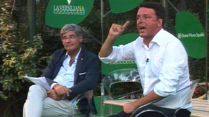 Matteo Renzi alla Versiliana: