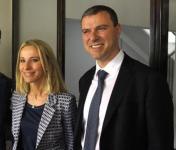 I fratelli Lucia e Giovanni Aleotti, presidente e vicepresidente del gruppo Menarini