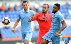 Empoli in cattedra (e traversa di Pucciarelli) ma la Lazio vince (2-0) nell'Olimpico semideserto. Pagelle