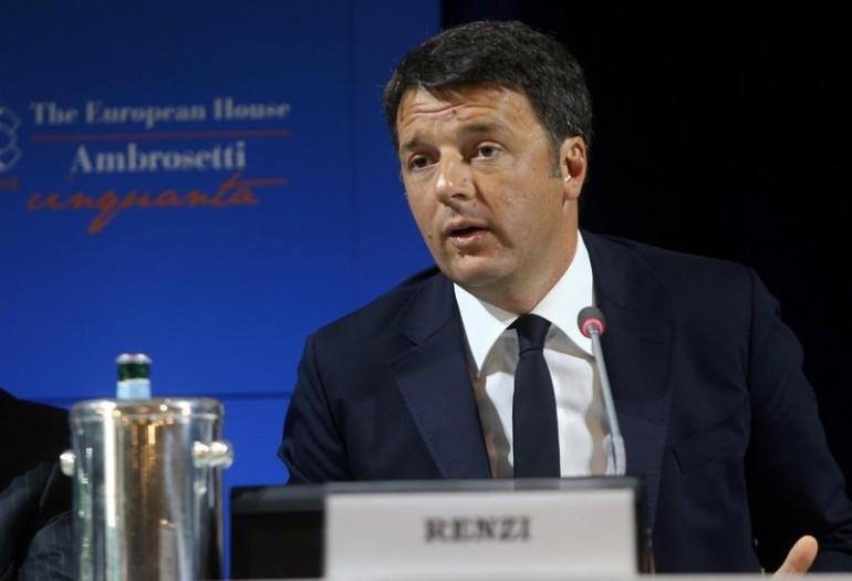 Renzi: Pil Italia meglio degli altri anni, ma ancora non basta