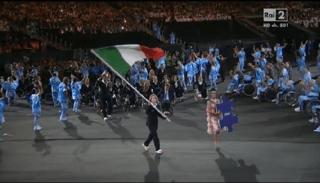Martina Caironi, portabandiera dell'Italia alle Paralimpiadi di Rio 2016