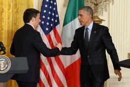 Matteo Renzi e Barack Obama: cena di gala alla Casa Bianca martedì 18 ottobre