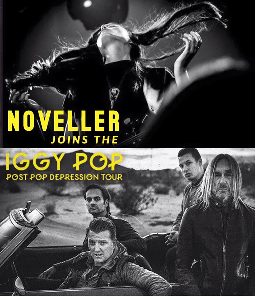 Noveller + Iggy Pop tour