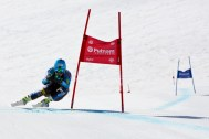 Ted Ligety trains this month at Mammoth Mountain in California. (photo: Mammoth Mountain)