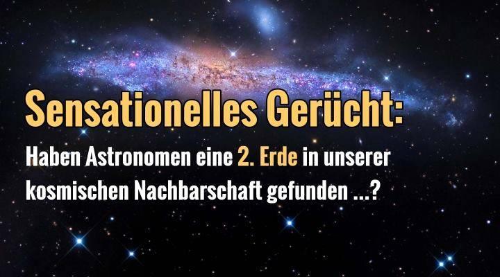"""Bewohnbarer Planet vor unserer kosmischen Haustür gefunden? Die Gerüchte um eine """"Erde 2.0"""" um den Stern Proxima Centauri brodeln …"""