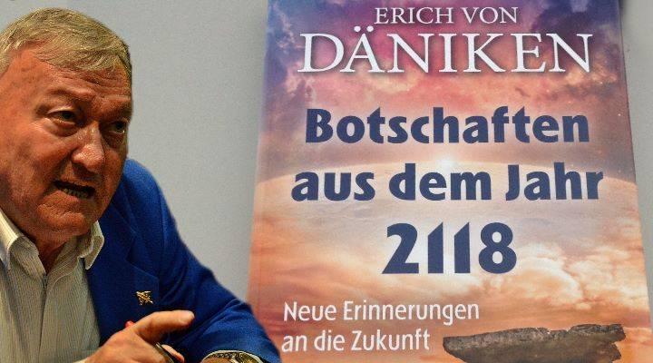 """Das neue Buch von Erich von Däniken: """"Botschaften aus dem Jahr 2118"""" - Eine Rezension von Alexander Knörr"""
