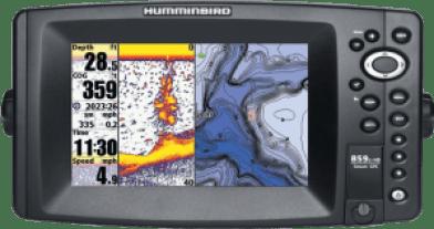 Humminbird 859ci HD gps Combo, Humminbird 859ci HD