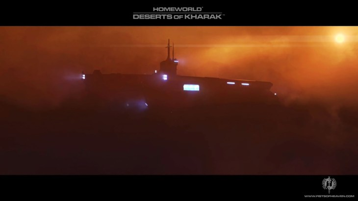 Homeworld Deserts of Kharak Wallpaper - Fists of Heaven - 2