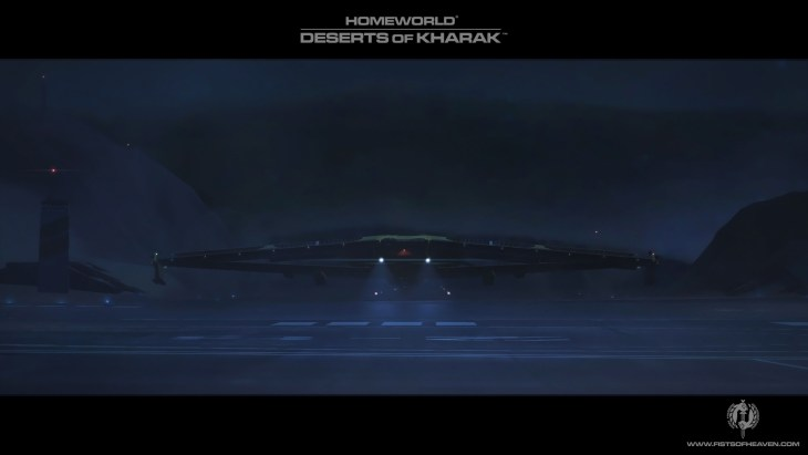 Homeworld Deserts of Kharak Wallpaper - Fists of Heaven - 3