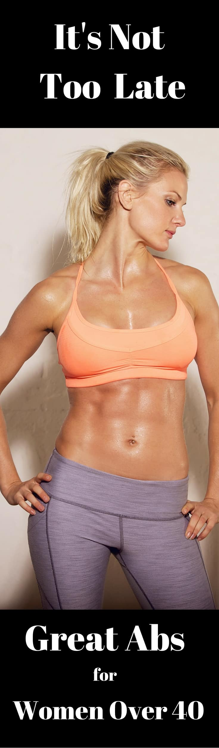 graphic about Printable Ab Workouts called Ab Training Around 40
