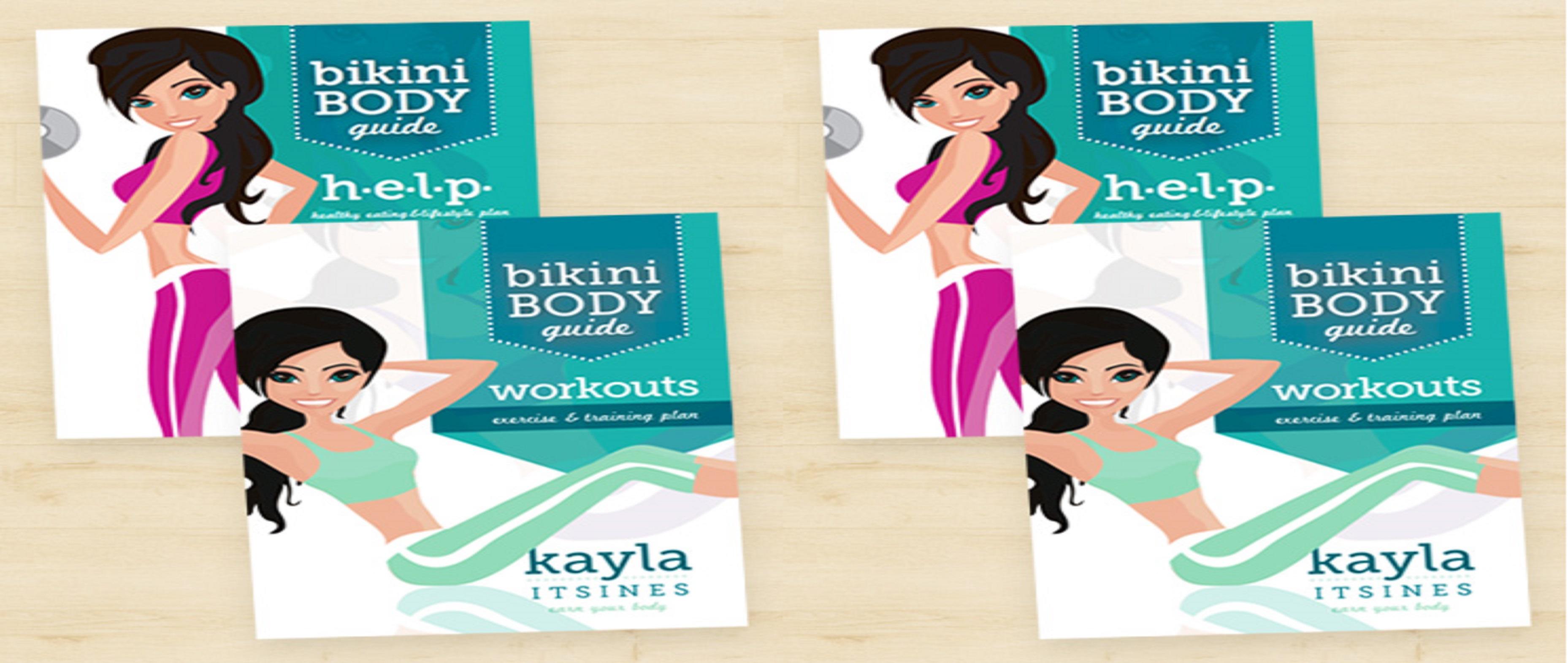 Bikini Body Guide- Kayla Itsines Pdf/ebook/epub Free