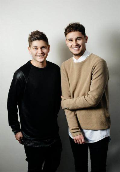 Joe & Jake   British Eurovision Entry image