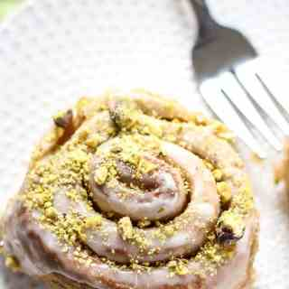 Vegan Lemon Pistachio Sweet Rolls-11
