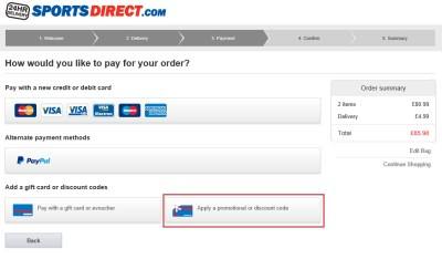 Sports Direct Voucher Codes & Discount Codes
