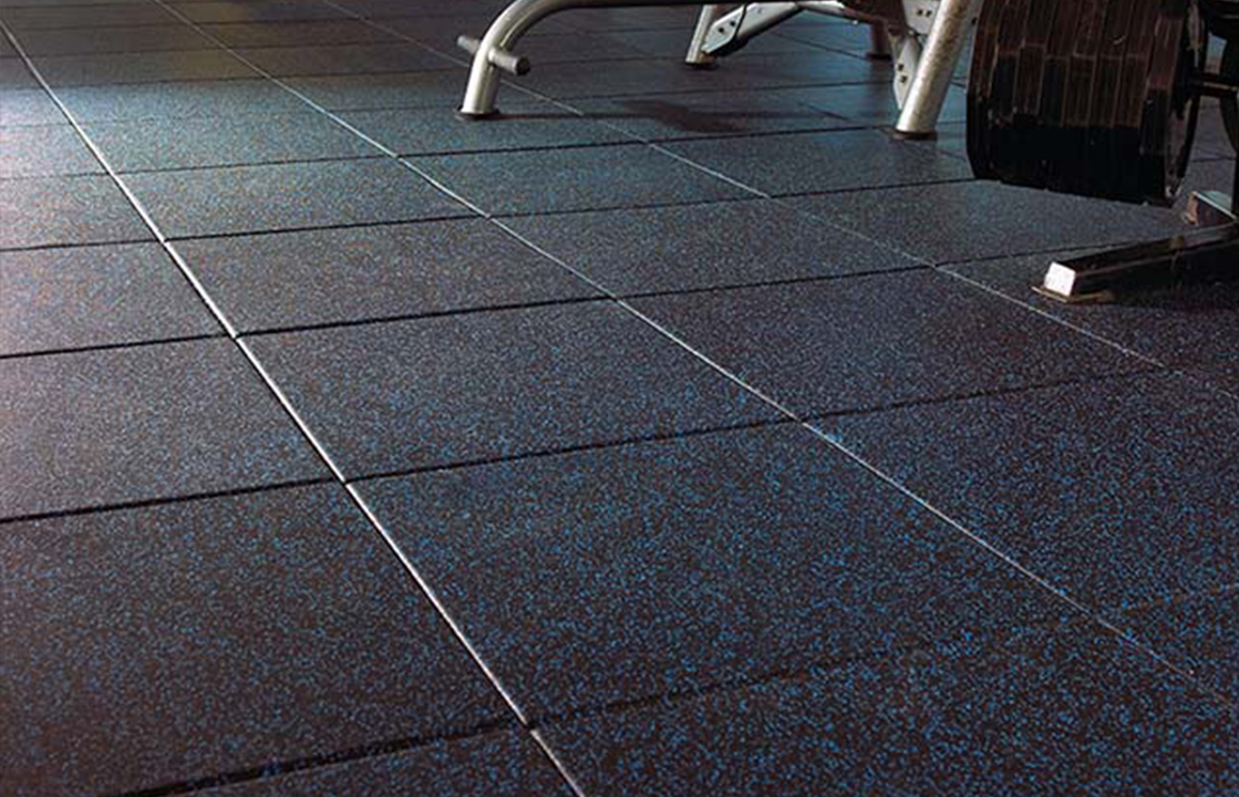 Recycled Rubber 1 Pro Tile Fitness Finishes