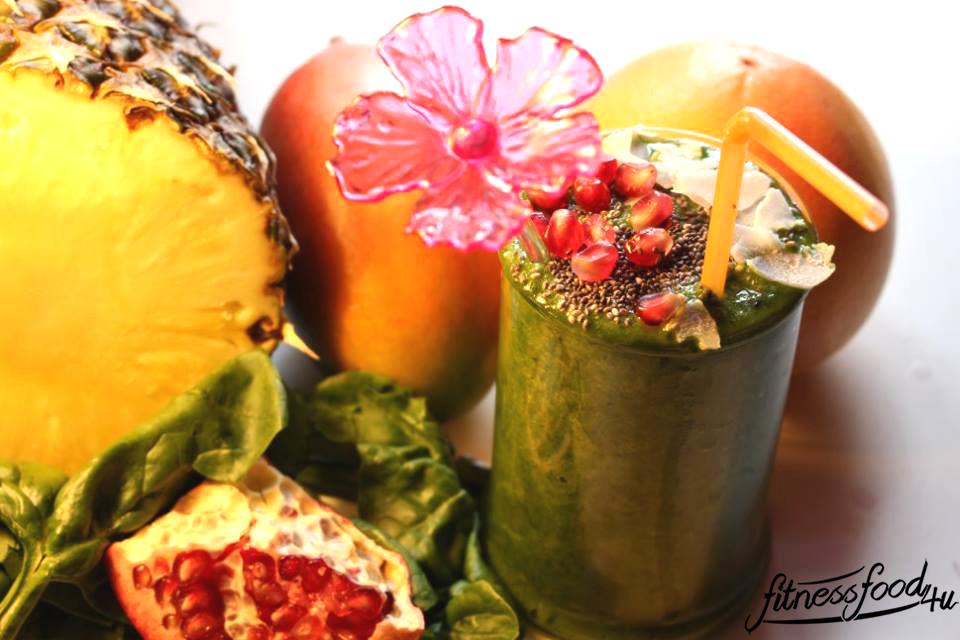 Exotischer Grüner Smoothie – gesund und lecker