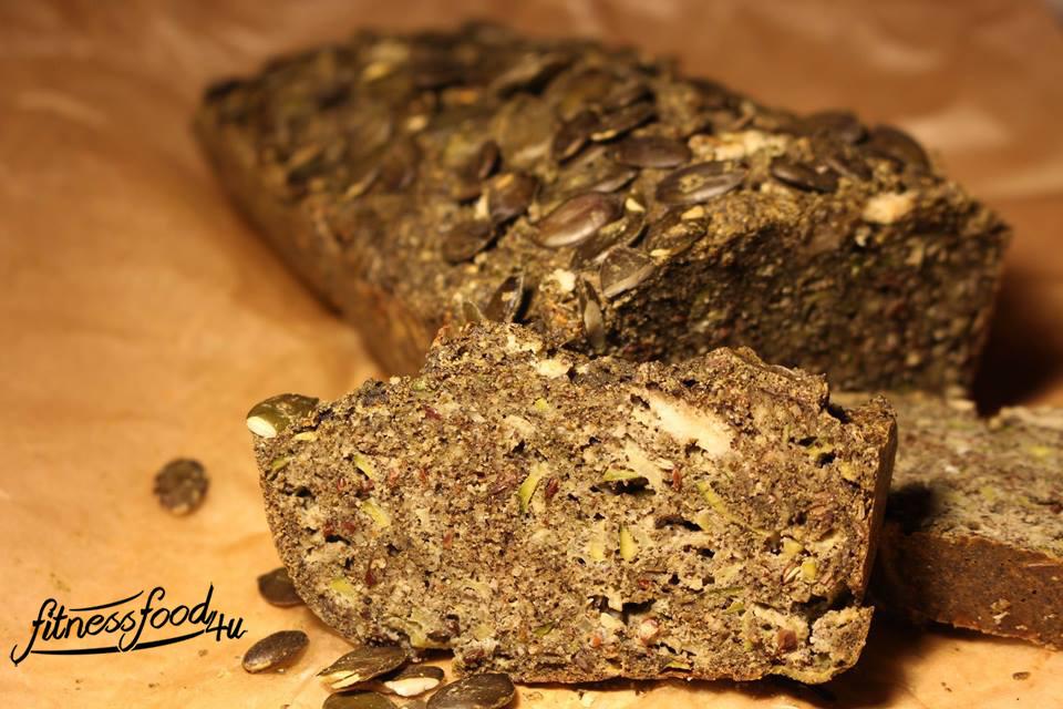 Paleo Superfood Brot mit Moringa