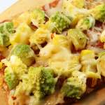 Low Carb Pizza Rosenkohl Romanesco