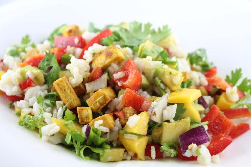 Thai Veggie Salat – exotisch, gesund und vegan