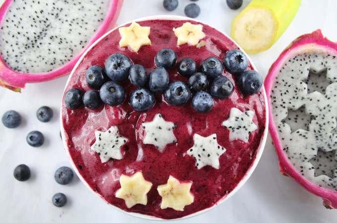 smoothie Bowl Drachenfrucht