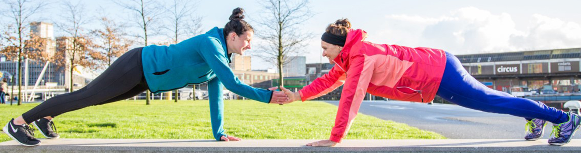 Samen personal training bij Fittrr