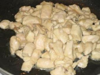 Straccetti di pollo alla salsa di soia