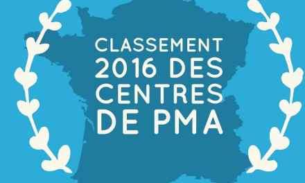 Classement 2016 des centres de PMA en France