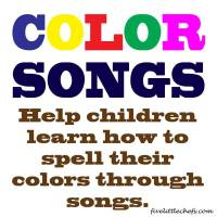 Kids Songs: Color Songs