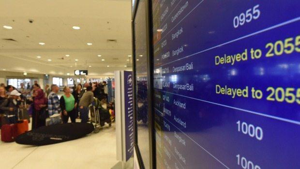 airport strike australia