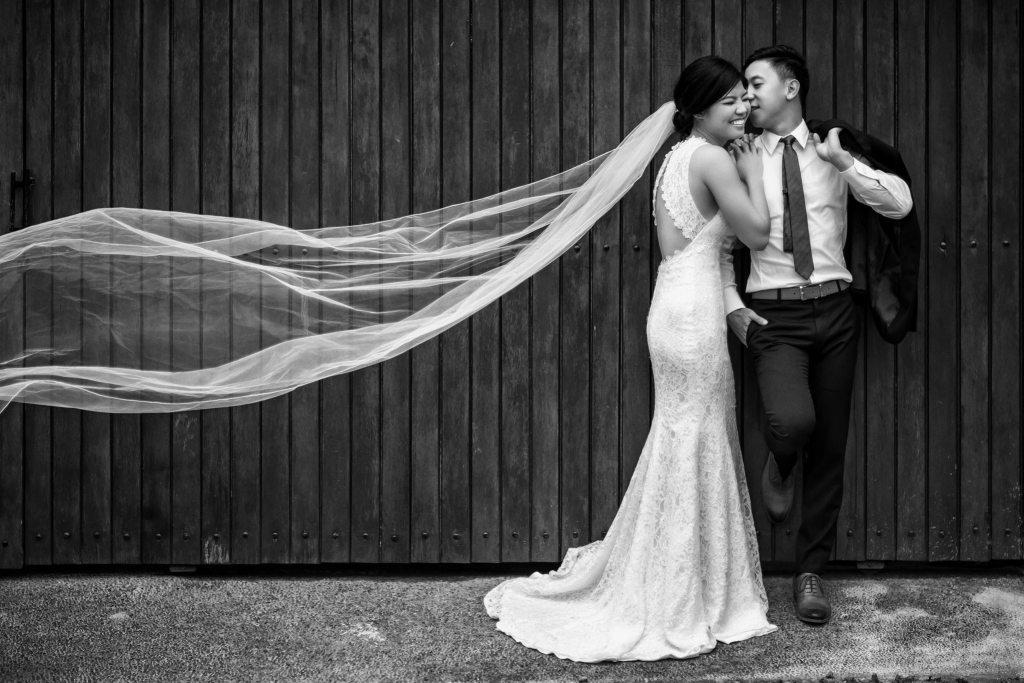One of Garick's wedding photography shot.