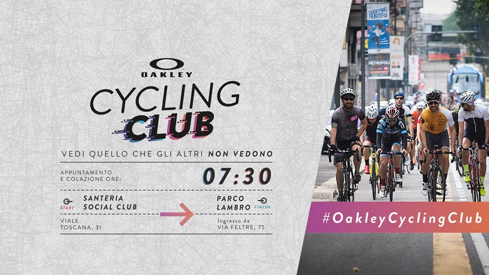 Oakley Cycling Club - Second Ride