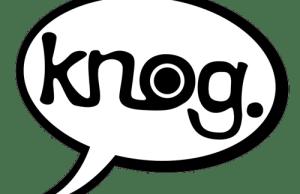 Knog éclairages : le logo chez Fixie Lille