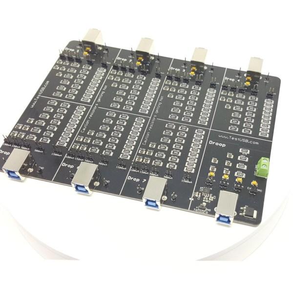 USB 2.0, 3.1, BC1.2 Drop Droop