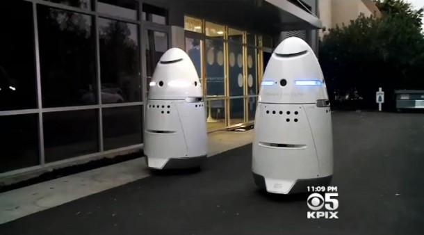 Silicon Valley security robots