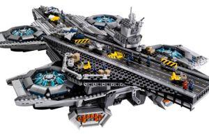 LEGO Official S.H.I.E.L.D. Hellicarrier LEGO set