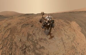 Stunning Latest Selfie Of Curiosity from Mars