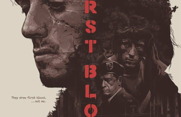 Rambo First Blood Tribute Poster Art