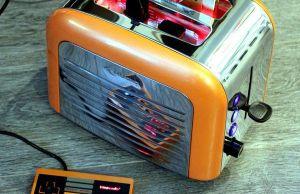 Retro Toaster Transformed Into Nintendo Console