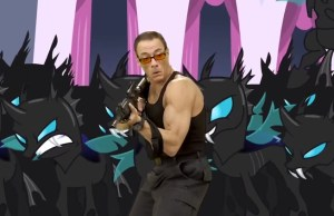 Epic Video Of Jean-Claude Van Damme Fighting Alongside MY LITTLE PONY