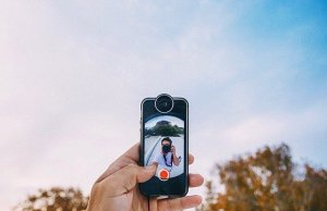 Fisheye Smartphone Lens by instaLens