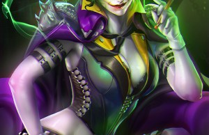Super Hot Lady Joker Art