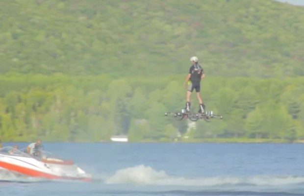 World Record Set for Longest Hoverboard Flight - Video