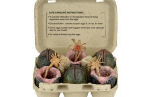 Alien Xenomorph Collectible Egg Set in Carton